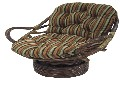 Tapestry Swivel Rocker Cushion